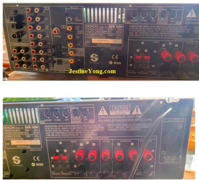 Denon AVR 1604 AV Surround Receiver repair