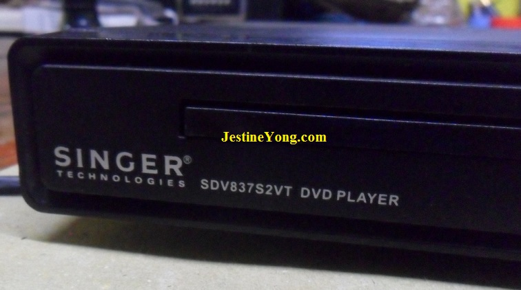 Singer DVD Player Tray Can't Fully Open
