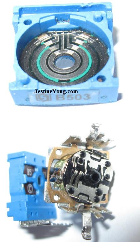 Stereo Potentiometer Repairing