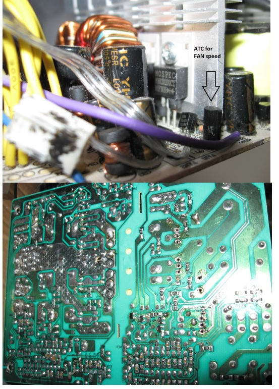 atx power supply repaired