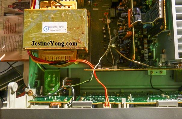 Denon AVR 1604 AV Surround Receiver transformer