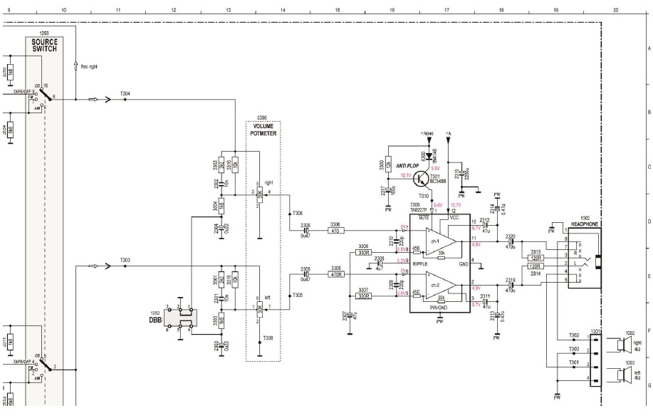 stereo schematic