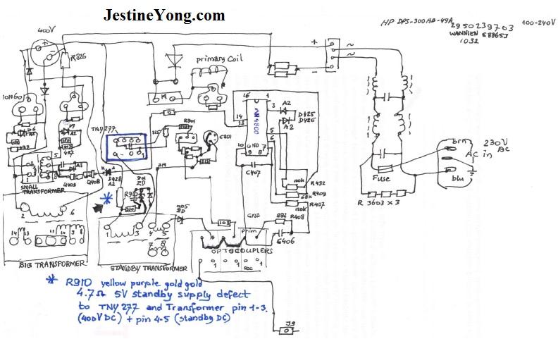 pfc power supply repair circuit