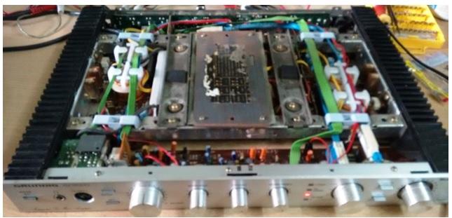 test amplifier repair