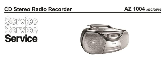cd stereo recorder repair