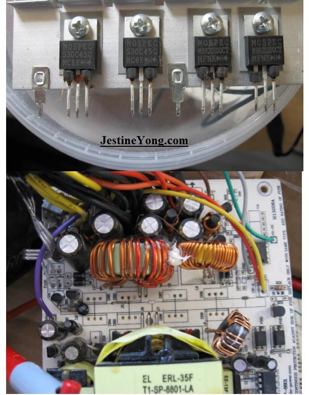 750 watt atx repair