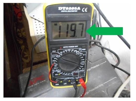 ac voltage testing