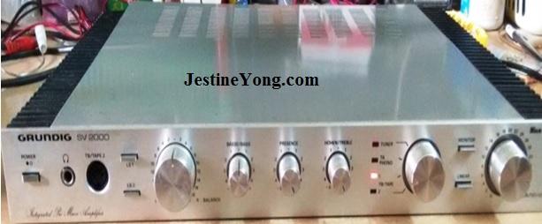grundig amplifier repairing how to