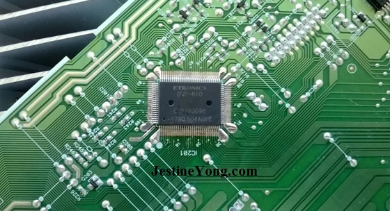 installing smd ic