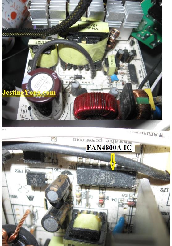 750 watt atx repairing