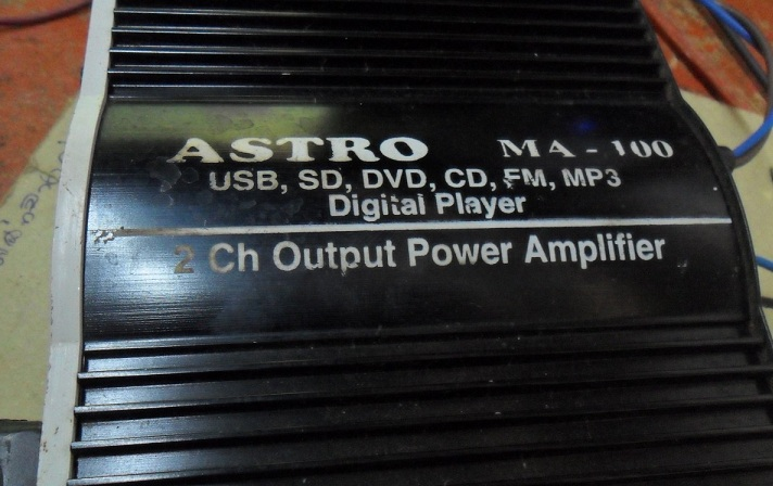 USB Mini Amplifier No Sound Repaired