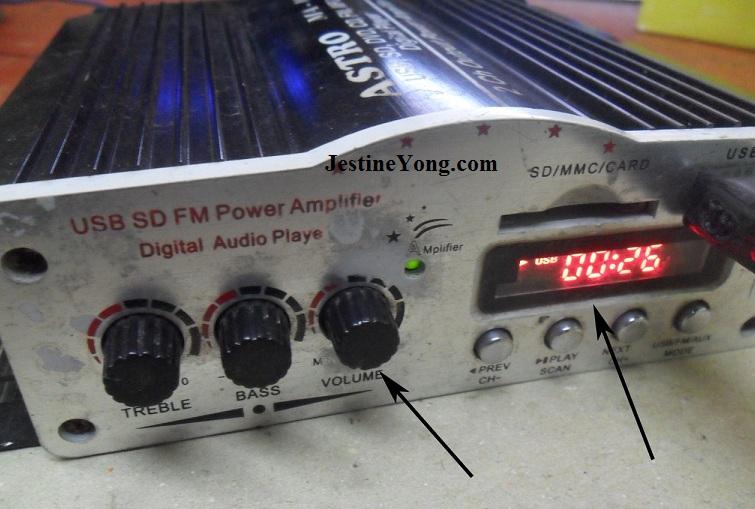 USB Mini Amplifier No Sound Repair