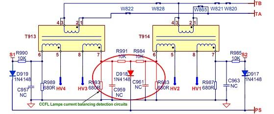 good lcd tv repair tips by mr kent electronics repair and rh jestineyong com Solar Inverter Wiring Diagram Inverter 12 Volt Wiring Diagram