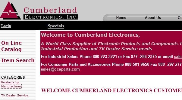 cumberland electronics