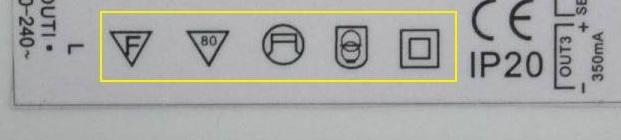 LED electronics symbol